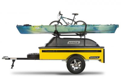 Space Trailer with Kayak