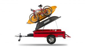 Features of a customizable cargo trailer from SPACE trailers