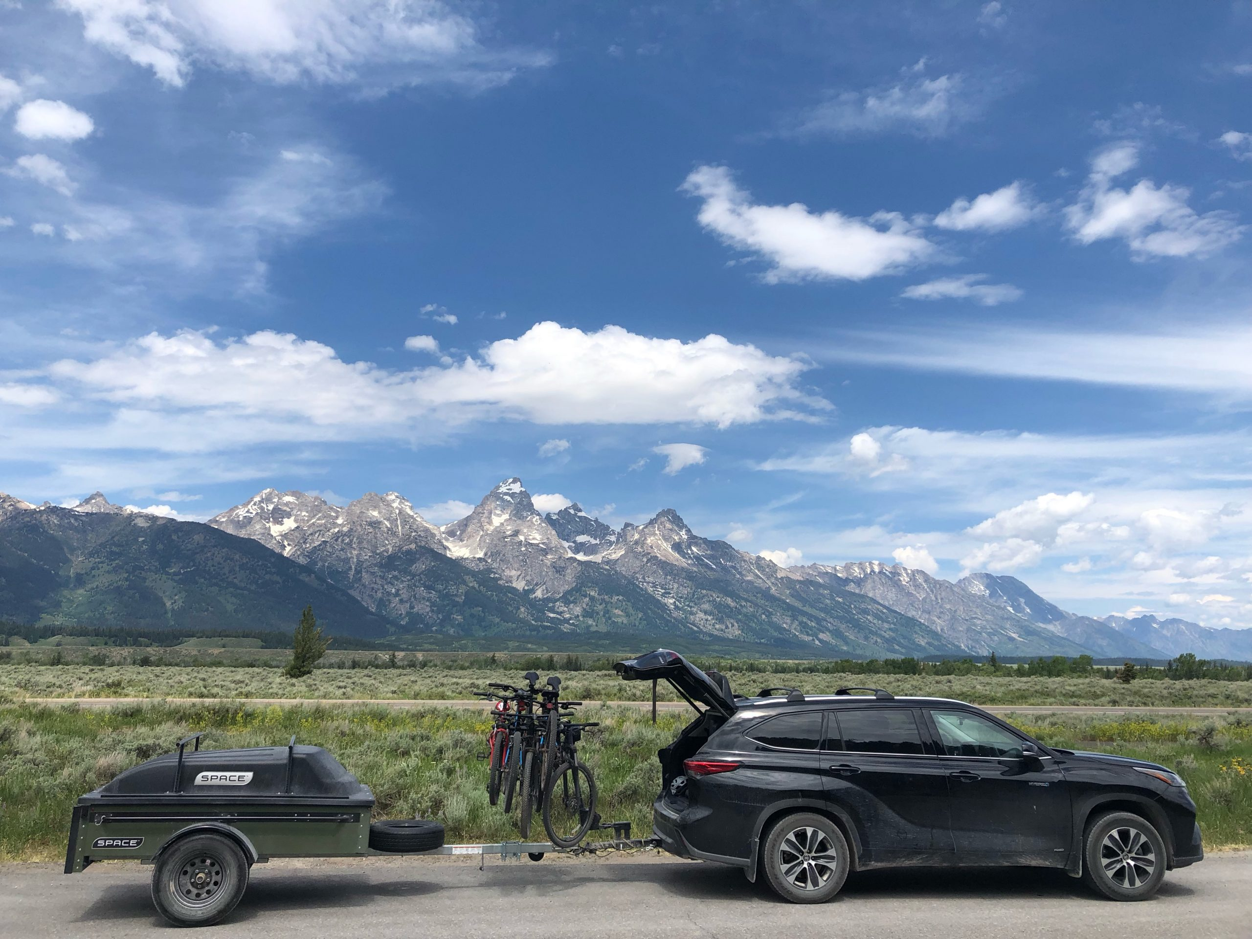 Adventure Space Trailer in Mountains