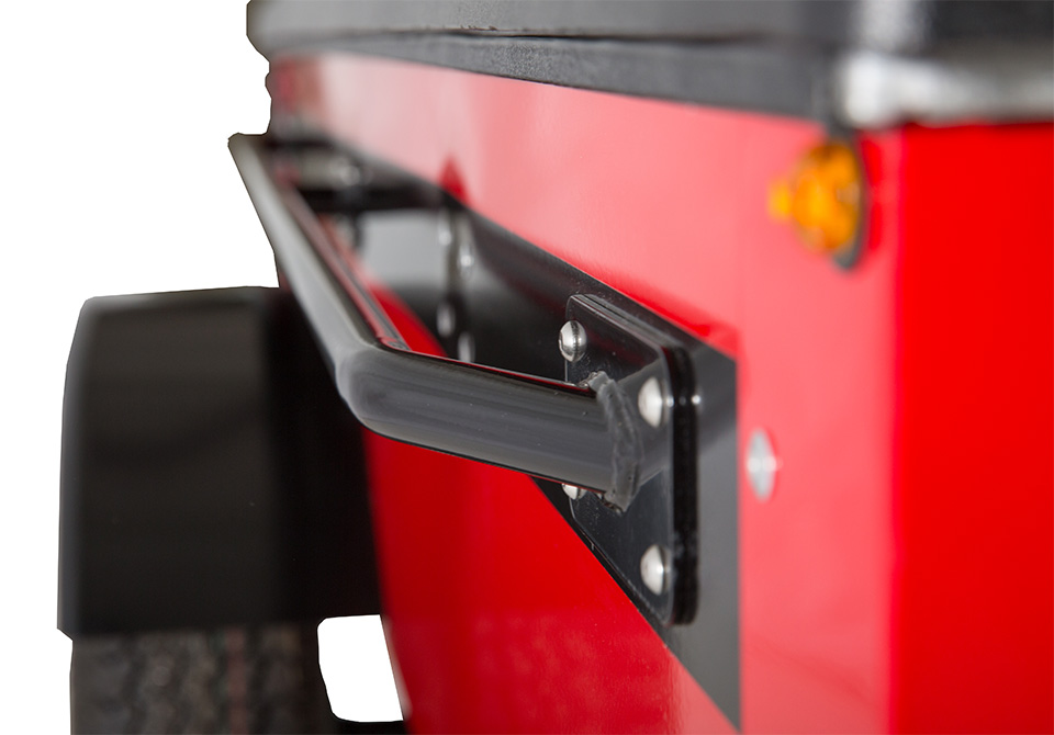 Red SPACE Trailer LUV Handles