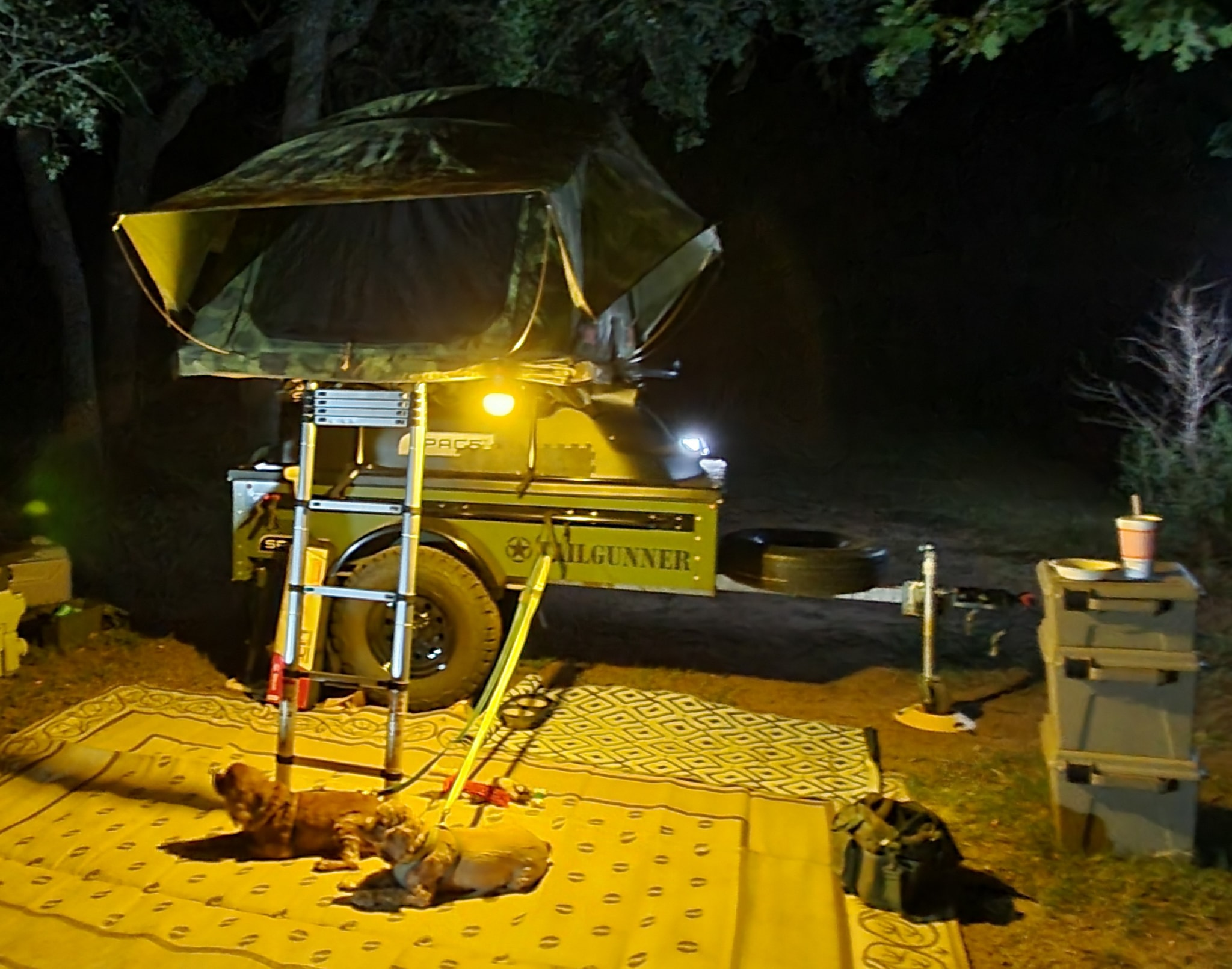 camping with a SPACE Trailer