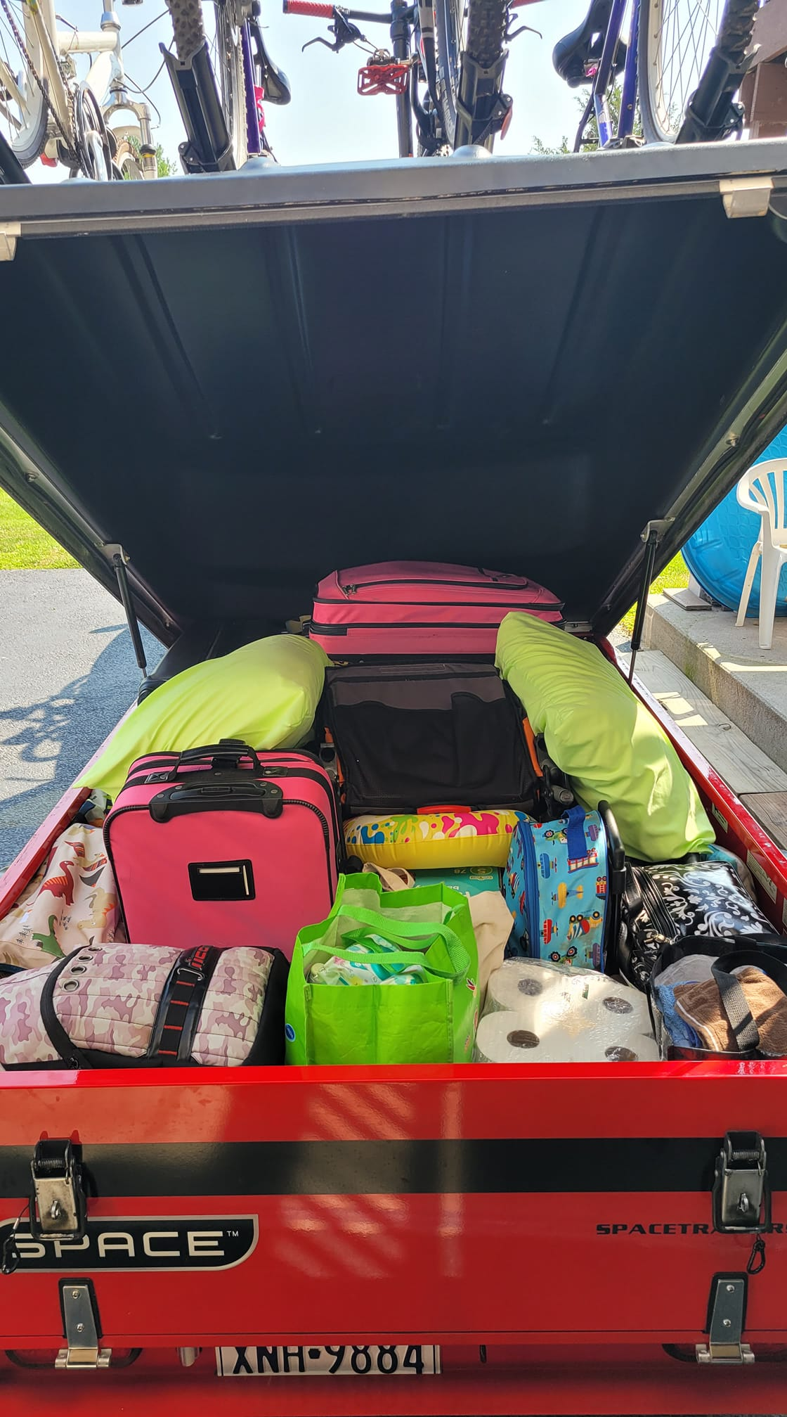 Using a Space Trailer for Family Road Trips and Extra Storage