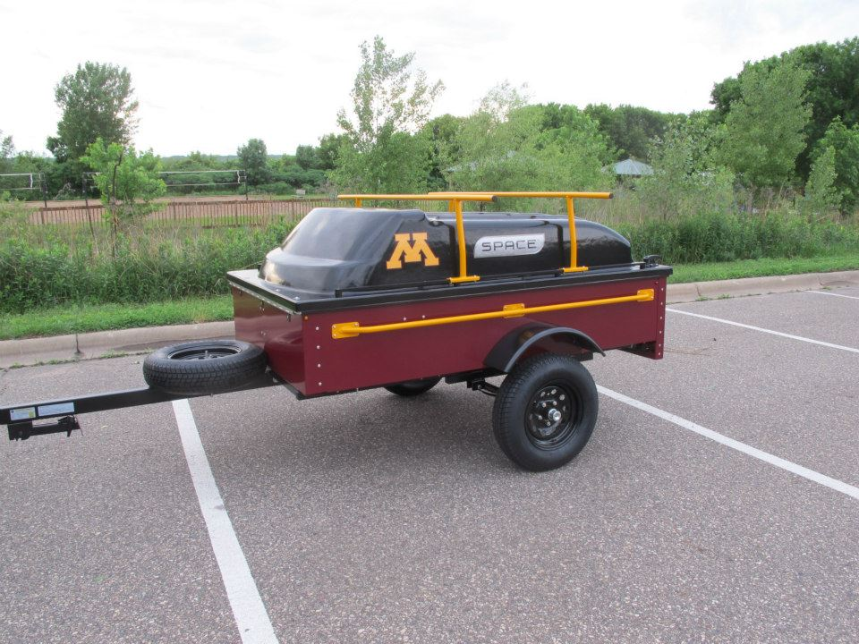 Tailgating with a SPACE Trailer