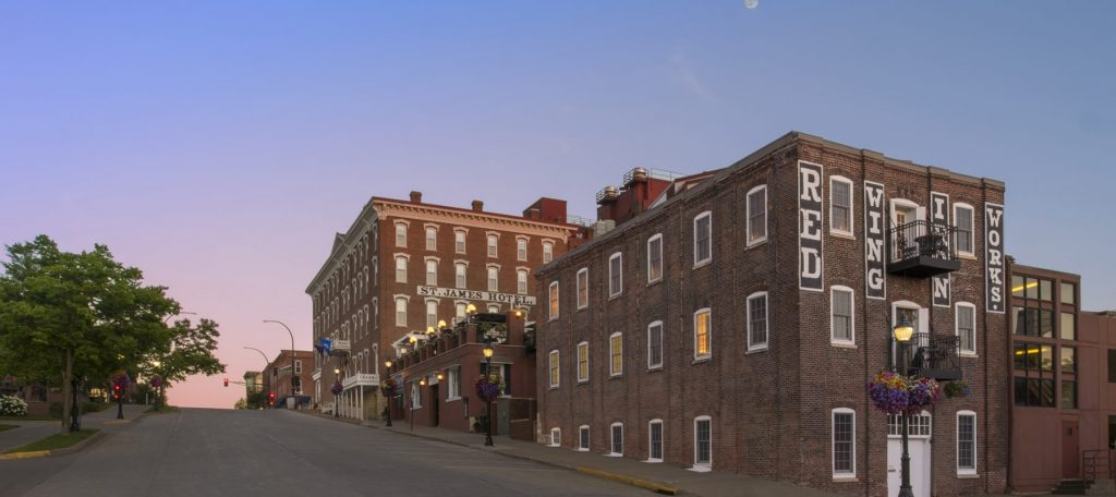 St. James Hotel in Red Wing, Minnesota